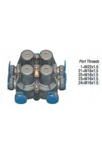 4-х контурный защитный клапан 03319020FSS (AE4452)