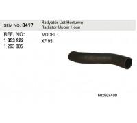 Патрубок радиатора SEM8417 (1353922)