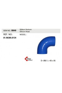 Патрубок интеркулера SEM8849 (81963050134)