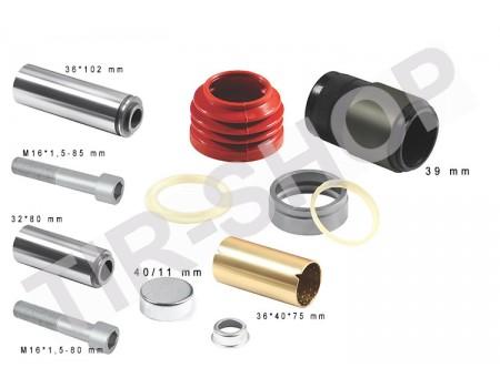 Ремкомплект направляющих суппорта 6002-38 (K001274)
