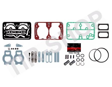 Прокладки с клапанами компресcора Scania/Volvo 1400010500 (SEB22560)
