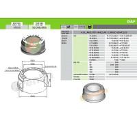 Тормозной барабан DAF 99.009.005 (284620)