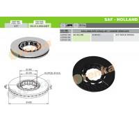 Тормозной диск SAF 98.014.002.037 (4079001300)