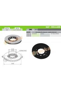 Гальмівний диск SAF 98.014.002.037 (4079001300)