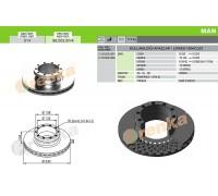 Тормозной диск MAN 98.002.014 (81508030024)