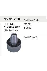 Сайлентблок тяги стабилизатора MAN SEM7708