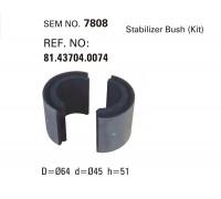 Втулка стабилизатора MAN SEM7808  (81437040074)
