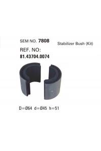 Втулка стабілізатора MAN SEM7808 (81437040074)