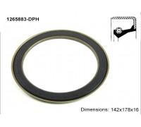 Сальник ступиці 1265883-DPH (4266002801)