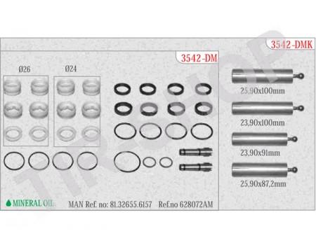 Ремкомплект гидрокулисы 3542-DM (628072AM)