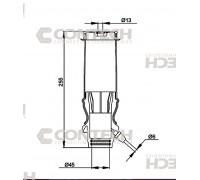 Пневмоподушка амортизатора кабины 55019PCNT (9428900219)